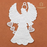 L60011 Patroon van het Kant van de Engel het Vorm Geborduurde met Decoratieve Leeswijzer