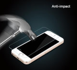 2.5D iPhone 4/4sのためのきっかり正常で高い定義緩和されたガラススクリーンの保護装置