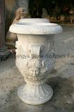 Potenciômetro de flor de mármore de plantador de jardim europeu