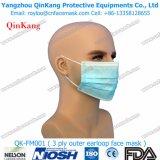 Mascherina chirurgica della maschera di protezione dell'igiene del respiratore del rifornimento medico con Earloop