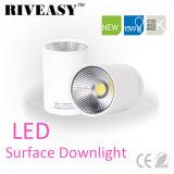iluminación blanca montada superficie SMD de Downlight LED de la MAZORCA de 15W LED
