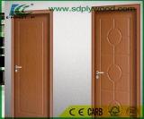 木製の穀物のメラミンペーパーが付いているHDF型のドアの皮