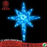 Luz pendiente de la Navidad multicolora de la estrella de la muestra de neón para el jardín Decoartion del parque