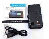 O mini perseguidor do GPS do Portable com ímã e Waterproof para pessoal e o veículo com 2200mAh a bateria T12