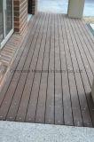 Frontière de sécurité imperméable à l'eau rouge-brun du composé 88 en plastique en bois solide