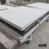 Branco 6mm Corian de superfície contínuo acrílico puro da geleira