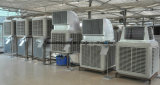 Refrigerador de aire evaporativo móvil industrial del taller de China Manufactirer