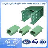 Bandeja de cabo flexível galvanizada padrão do engranzamento de bandeja/fio de cabo de Hateng