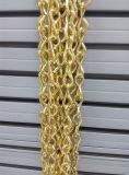 Chaînes de Jack simples à chaînes décoratives plaquées par laiton en métal