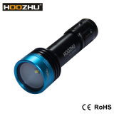 O mergulho 900lumens máximo claro video de Hoozhu V11 Waterproof 100meters