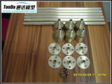 Piezas que trabajan a máquina del CNC de la alta calidad con el acero inoxidable, aluminio, material de cobre amarillo