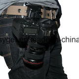 Schnelle Laden-Kamera-harter Plastikpistolenhalfter-Taillen-Riemen-schneller Brücke-Faltenbildung-Tasten-Montierungs-Klipp für DSLR Kameras Canon 70d 60d T5I 400d 500d Esg10210