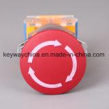 Dia22mm-La118AEM4 de Schakelaar van de Drukknop van de Noodsituatie, Rode, Groene Kleuren, Voltage 6V-380V