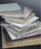 Revestimento de parede de favo de mel de alumínio revestido PE / PVDF