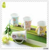 Las tazas de cerámica blancas, barato aclaran la taza del café con leche, tazas blancas al por mayor