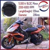 motore di 5kw BLDC/motore elettrico della motocicletta del kit 48V /72V /96V BLDC di conversione del motociclo