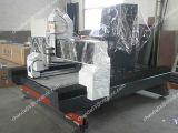CNC van de Gravure van de Grafsteen van het monument de Machines van de Router met Roterende As