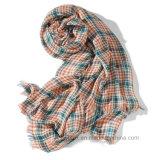 Gesponnener Check-dickflüssiger Schal /Stole/Schal (HWBS09) der Form-Frauen