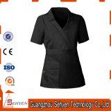 L'infirmière uniforme de noir de tissu de bâti d'hôpital de Comforable frottent des jeux