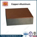 Explosion-Masseverbindung-Technologie-kupfernes plattiertes Aluminiumlaminat
