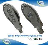 Luz de luz de rua do diodo emissor de luz do poder superior da ESPIGA 60W de Yaye 18/de rua diodo emissor de luz da ESPIGA 60W Dimmable com garantia 3 anos