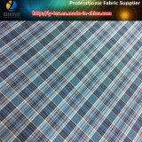 El hilado teñió de la tela de la tela escocesa del poliester para la ropa o la guarnición (YD1177)