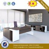 Modernes L Form-Büro-Schreibtisch-leitende Stellung-Glastisch (HX-6M236)