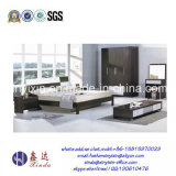 Kundenspezifische hölzerne doppeltes Bett-Ausgangsschlafzimmer-Möbel (SH-015#)