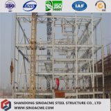 Vorfabriziertes mehrstöckiges schweres Stahlkonstruktion-Diplomgebäude