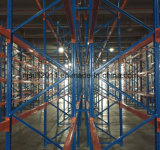 Rayonnages à pallettes réglables sélecteurs pour la mémoire d'entrepôt