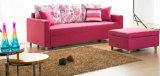 Простой стиль Но Идеальный горячей продажи Сафа кровать (VV988 три места)