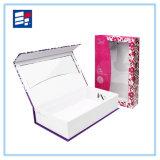 Caixa de presente personalizada de papel de janela para exibição eletrônica
