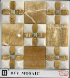 Мозаика строительного материала естественная каменная мраморный (FYSL077)
