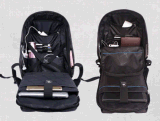防水2017の人ビジネスラップトップの箱のバックパック袋旅行方法