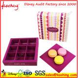 Caisse d'emballage mignonne de catégorie comestible d'impression pour des gâteaux