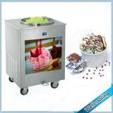 /rotonda di 40/50cm macchina fritta frittura fredda quadrata del gelato della vaschetta di ghiaccio della vaschetta