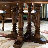 أسلوب [أمريكن] [دين تبل] خشبيّة مستديرة لأنّ أثاث لازم بيتيّة ([أس836])