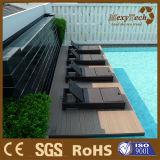 El panel compuesto plástico al aire libre barato impermeable de WPC para el suelo del Decking