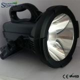 新しい30W穂軸LEDの懐中電燈7.4V 21000mAh李イオン1500m