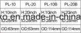 China Reemplazo de los elementos de filtro de la serie Pl