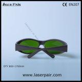タイプの1064nm /1320nm/ 1470nmレーザーNDのための保護ガラスの安全めがねを遊ばす: フレーム55が付いているYAGのレーザー
