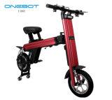 Складной портативный воздухоплавательный алюминиевый электрический велосипед для коммутировать