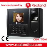 Comparecimento biométrico múltiplo do tempo da impressão digital do software de Realand (A-C021)