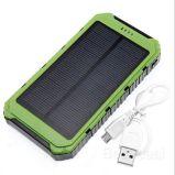 Sonnenenergie-Bank, Powerbank 10000mAh, Solaraufladeeinheit Powerbank