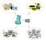 Máquina de giro de alumínio do metal da máquina da chaleira de chá