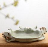 鳥シェルによって塗られる陶器の陶磁器の植木鉢プランターSucculents