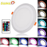 Runde LED Oberflächeninstrumententafel-Leuchte 12 Watt RGB-mit preiswerter Größe