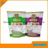 La coutume a estampé le sac de nourriture scellé par sac en plastique de tirette de conditionnement des aliments/sac stratifié de coutume de nourriture