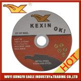 disque rouge de découpage de 105X1.2X16mm pour le métal