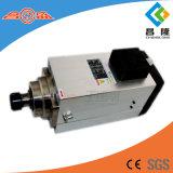 CNC Router motor del huso de la refrigeración por aire de 12 kW husillo ER40 para el tallado en madera